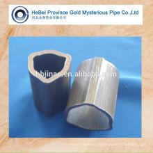 Tubo de acero triangular sin costuras de carbono