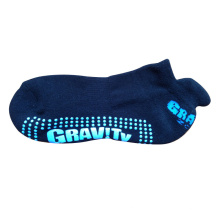 Algodón terry antideslizante trampolín calcetines deportivos con soporte de arco (ast-03)