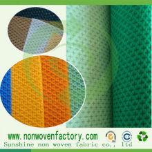 Tissu de conception croisée non tissée de tissu de Spunbond de pp / tissu de Cambrella