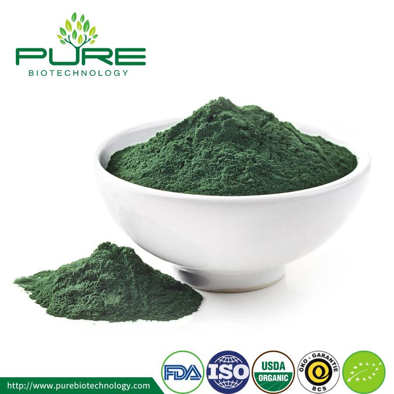 Certified Organic Spirulina Powder Top Grade Health Food Wholesale 1