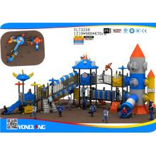 Matériau et extérieur Type d'aire de jeux Round Climbing