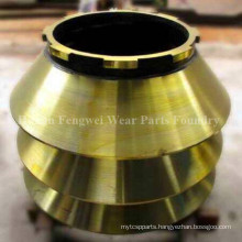 Chinese Foundry Mantle Concave Bowl Liner for Cone Crusher
