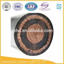 Cables de conductor concéntricos de NYCWY / NYY Alambre de cobre revestido del PVC para el transformador
