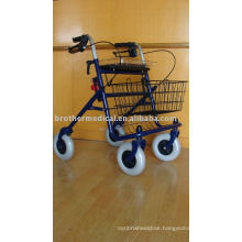 4-Wheel Economy Steel Rollator