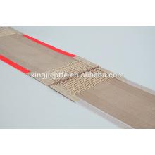 Resistência UV máquina de secagem correia transportadora fibra de vidro PTFE tecido de malha aberta