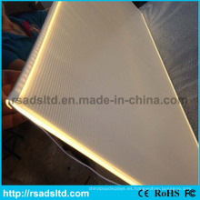 Alta calidad PMMA Acryli Laser grabado Panel de guía de luz