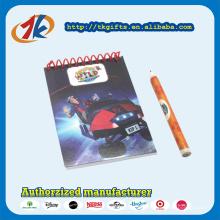 Kit de papeterie à papiers à glissière en plastique promotionnel avec kit de papeterie pour enfants
