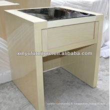Table de chevet de chambre d'hotel XY0147