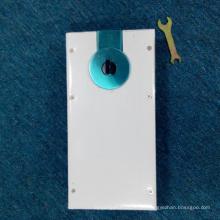 Precio de resorte deslizante de piso de alta calidad para puerta de vidrio de gimnasia