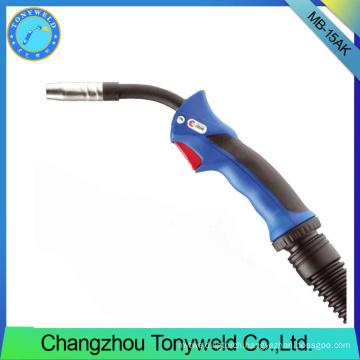 new handle binzel 15AK MIG MAG CO2 welding torches