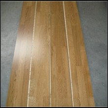 3 bandes bois chêne (couleur naturelle) de plancher d'ingénierie