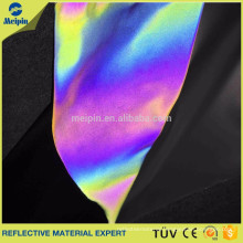 Rainbow color reflective material/ Reflective fabric