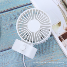 Dual Blades Mini Desk Fan with 2 Speeds