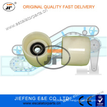 1709042900 JFThyssen Escalator Handrail V-Belt Pulley W/Axle 80*70mm 6204 170904290 Escalator Roller