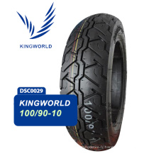 pneu tubeless de scooter 100/90-10