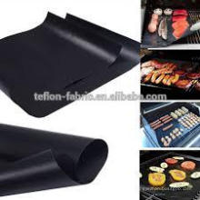 Fácil de lavar alfombra reutilizable de barbacoa de asado Alfombra de parrilla ignífuga de pollo asado