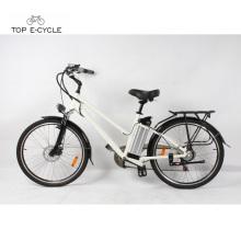 Livelytrip 26 pulgadas batería de litio eléctrica accionada bicicleta eléctrica barata de la ciudad