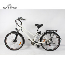 Livelytrip 26 inch electric lithium battery powered cheap electric city bike