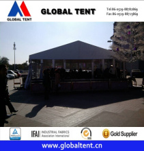 20X15m Aluminum Frame Structure with Gable End Entrance Canopies