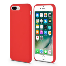 Liquid Silicone Rubber iPhone8 Cover with Micro Fabirc