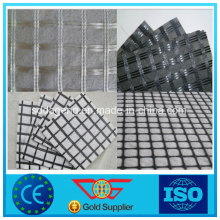 Fiberglass Geogrid Composite with Geotextile With CE