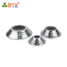 foshan factory Stainless steel railing accessories 304 flange decorative cover for base plate