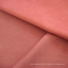 Velours de polyester suédine canapé tissu d'ameublement pour la maison utilise