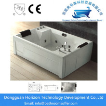 Big size jacuzzi bathtubs massage tub