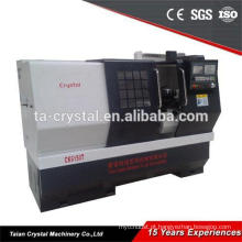 Torno grande ideal grande CK6150A / 1000mm do cnc do controlador de alta precisão de Fanuc
