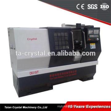 Torno grande torno cnc CJK6150B-1 * 1000mm máquina ferramenta siemens 808D