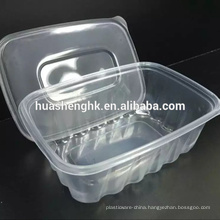 High Quality 700ml Disposable Clear PP Plastic Food Containers/Take away box/Lunch Box