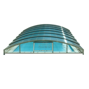 TypePvc Natation Dome Cost Equipment Couverture de piscine rigide