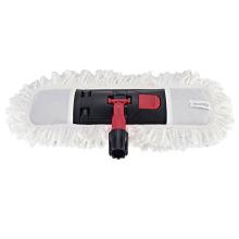 Limpieza de pisos Popular 44 * 14 Blanco Ajustable Fácil Limpiador de pisos Fregona plana Microfibra Fregona