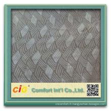 Populaire en relief Design tissus pour la couverture de siège de voiture