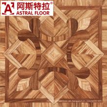 600mm vermelho 12mm Laminado Parquet Flooring / (AS0016)