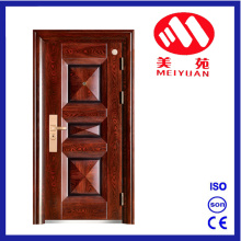 2017 New Design 3D Design Elegant Steel Security Exterior Door for Villa