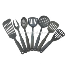 7pcs Nylon Kitchen Gadget Utensils Set with Fork