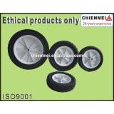 solid rubber wheel/plastic rubber wheel/rubber rubber wheel/ Ruled Rubber Lawnmower Lawn Push Mower Wheel 5+ inch diameter
