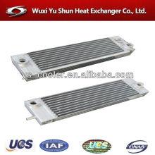 screw compressor heat exchanger / hot oil exchanger / air compressor mini air heat exchanger