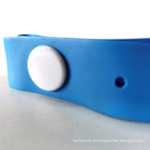 Botón de orificio de torniquete azul de un solo uso 25 * 400 * 0.635MM