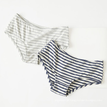Wholesaley Young Lady Besic Panties Daily Modal Cosy Low-cintura Stripe Underwear