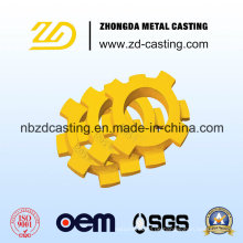 Soem-China-legierter Stahl-Feinguss für Baumaschinen