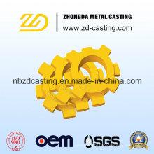 Moulage de précision d'acier allié de la Chine d'OEM pour des machines de construction