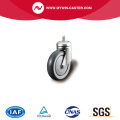 Threaded Stem Swivel TPE Supermarket Caster
