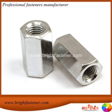 Fast Delivery for Stainless Steel Coupling Nuts DIN6334 Hexagon Long Nuts export to Peru Importers