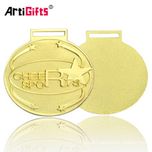 Gold Plated Oval Felicitate Christmas Medals For Kids