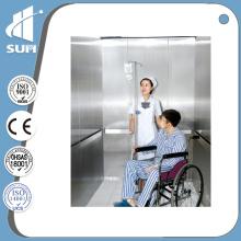 Capacité 2000kg Vitesse 1.0m / S Ascenseur de l'hôpital