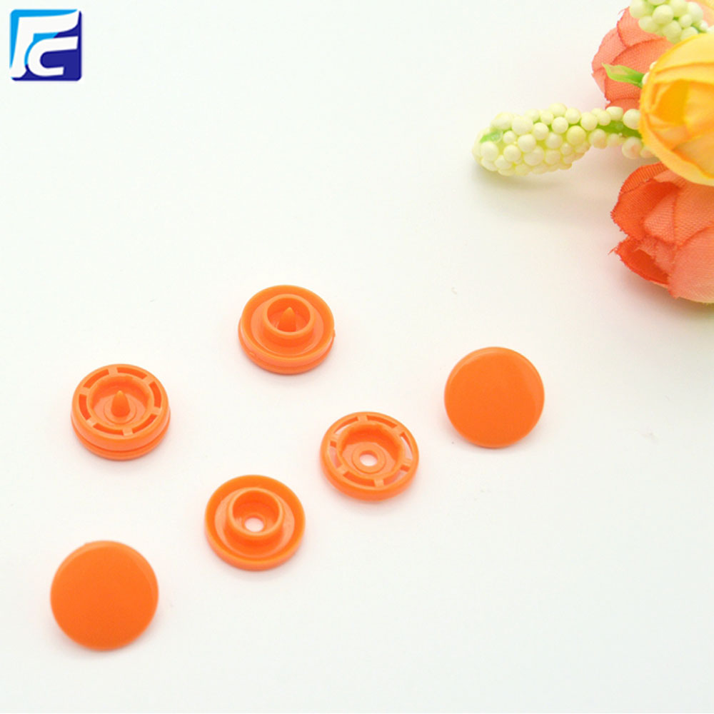 Custom Logo Plastic Snap Fastener For Children Clothes
