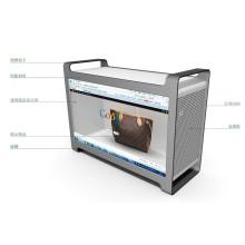 Exposição transparente do LCD da propaganda 46inch