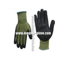 13G Bamboo Fiber Liner Nitrile Foam Work Glove-5031